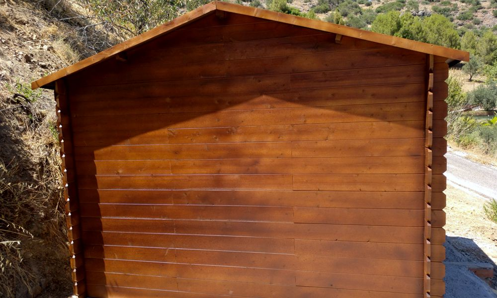 montaje de casetas de madera en Málaga Marbella Guaro